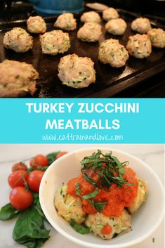Try out this easy to make delicious clean and healthy Turkey zucchini meatballs that are so delicious and make a great healthy alternative to traditional meatballs | healthy recipes | healthy dinner recipes | clean eating | meatball recipes | turkey meatballs