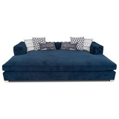 Give our Fat Bastard sofa daybed a prominent place in your living room and enjoy total comfort while lounging on plush velvet. Home Theater Setup, Home Theater Rooms, Home Theater Design, Home Theater Seating, Movie Theater, Cinema Room, Furniture Decor, Furniture Design, Farmhouse Table Chairs