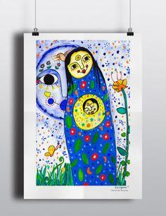 Paintings, Artwork, Dots, Work Of Art, Painting Art, Painting, Painted Canvas, Drawings, Resim