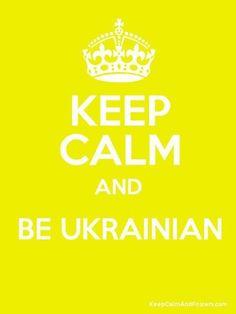 haha!!! I'm Ukrainian:)