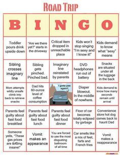 Road Trip Bingo!
