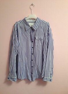 Kaufe meinen Artikel bei #Kleiderkreisel http://www.kleiderkreisel.de/damenmode/blusen/117161024-blau-weiss-gestreifte-bluse