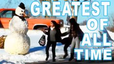 Scary Snowman Greatest Reactions Of All Time – Directors Cut Evil Twin, Animal Humor, Funny Pranks, Vacation Spots, Goats, Funny Animals, All About Time, Scary, Snowman