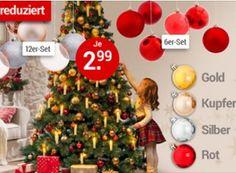 Weltbild: Christbaumkugeln für 2,99 Euro frei Haus http://www.discountfan.de/artikel/technik_und_haushalt/weltbild-christbaumkugeln-fuer-3-euro-frei-haus.php Wenige Tage vor Weihnachten bietet der Amazon-Rivale Weltbild Deko-Artikel wie Christbaumkugeln, LED-Kerzensets und Schwibbögen zu Schnäppchenpreisen ab 2,99 Euro mit Gratis-Versand an. Eine Lieferung zum Fest ist garantiert. Weltbild: Christbaumkugeln für 2,99 Euro frei Haus (Bild: We... #Christbaum, #Deko, #Schm