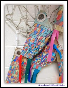 Rainbow fish kites