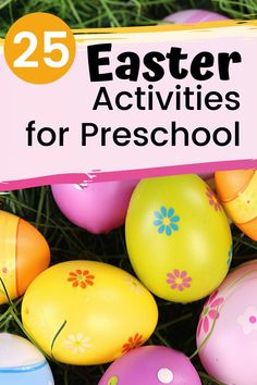 A Growing Collection of Easter Activities for Preschoolers, Spring has sprung which means Easter is on its way. You don't want to miss these Easter activities for preschoolers! Books, printables, snacks, and mo. Easter Activities For Preschool, Educational Activities For Preschoolers, Holiday Activities, Easter Books, Easter Snacks, Easter Season, Printables, Spring, Classroom