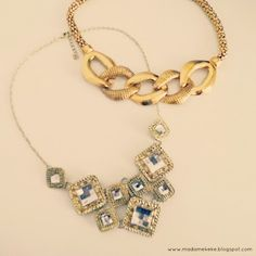 Favorite Gold Necklaces from efoxcity  Madame Keke Fashion and Beauty Blog
