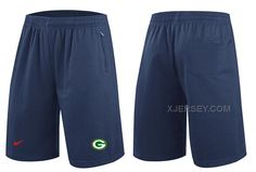 http://www.xjersey.com/nike-nfl-packers-navy-blue-shorts.html Only$31.00 #NIKE NFL PACKERS NAVY BLUE SHORTS Free Shipping!