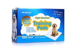 Dog Training Pads Dog Supplies All-absorb 100 Count Training Pads Pet Supplies  #AllAbsorb