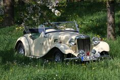 MG TD Roadster from 1953