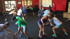 "CrossFit Warm Up Games (""Smack"")- CrossFit Krypton"