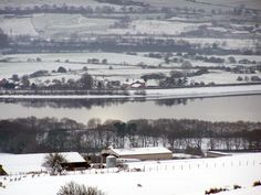 This is a view of Bolton and surrounding areas taken from Rivington Pike on a very snowy december 2008 The Beautiful Country, More Pictures, United Kingdom, Northern Lights, England, Tours, Explore, Nostalgia, December