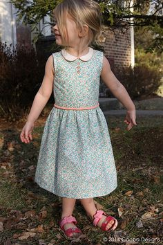 Oliver and S Fairy Tale Dress by Gooba Designs  Blogged at http://goobadesigns.blogspot.com/2014/01/a-fairy-tale-dress-finish-it-up-friday.html