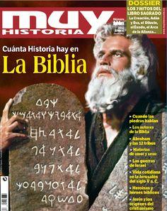 El número 44 de la revista Muy Historia está dedicado a la Biblia. En él encontrarás cuánta Historia hay en la Biblia con un amplio dossier sobre los 7 mitos del libro sagrado. Aquí tienes la portada.