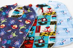 how to make sew and no sew bibs