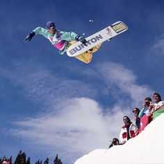 d91110e30484  CraigKelly boosting a stylish air in the  breckenridgemtn pipe at the TDK  Snowboarding World