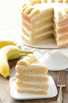 Banana Dream Cake wi