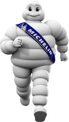 """#TuesdayTrivia:  The """"Michelin man"""" appearing in the Michelin logo design is originally named """"Monsieur Bibendum"""". He also featured as the hero in the Oscar winning movie, """"Logorama""""."""
