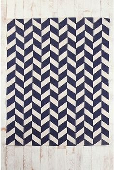 UrbanOutfitters.com > 5x7 Herringbone Rug - Free shipping and tax right now! So cute!