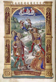 Biblioteca Digital Hispánica - 019-Libro de horas de Carlos VIII Rey de Francia - 1401-1500