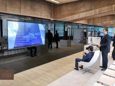 Evento en #castellana81 con la red de agentes del mercado de alquiler de oficinas de #Madrid #eventos #edificio #alquilerdeoficinas #arquitectura #showroom #realidadvirtual