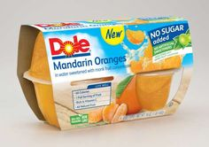 $0.50 Off Any One Package Of Dole Fruit Bowls With Printable Coupon!