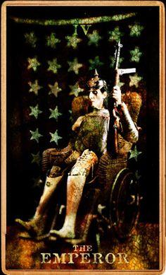 Marilyn Manson | Tarot | Holy Wood | The Emperor