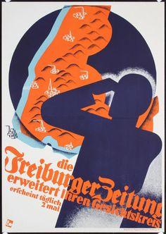 Freiburger Zeitung - 1930's - (Albert Rose) - .