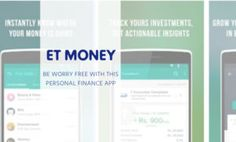 ET MONEY : A Worry Free Personal Finance App by Times Internet