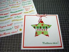Tuto : Réaliser une carte de Noël, par Madiwi