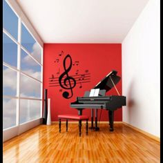 Music Room wall decoration