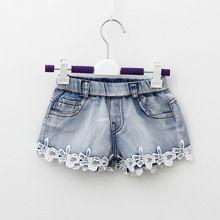 Promtion crianças coreano crianças meninas calças do bebê meninas denim calças KX075(China (Mainland))