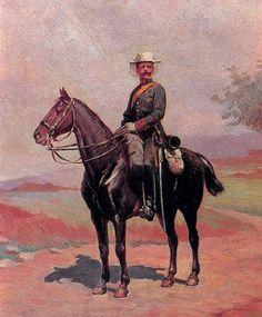 Victor Morelli, Guardia Civil a caballo.