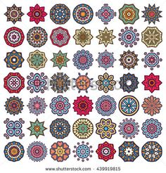 Find Flower Mandalas Vintage Decorative Elements Oriental stock images in HD and millions of other royalty-free stock photos, illustrations and vectors in the Shutterstock collection. Mandala Art Lesson, Mandala Painting, Mandala Drawing, Zantangle Art, Flower Art Drawing, Mandala Painted Rocks, Geometric Symbols, Pottery Painting Designs, Mandala Tattoo Design