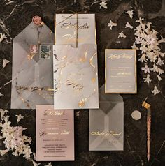 Classy Wedding Invitations, Minimalist Wedding Invitations, Wedding Invitation Samples, Personalised Wedding Invitations, Elegant Wedding Invitations, Wedding Stationery, Illustrator, Wedding Cards, Gold Foil