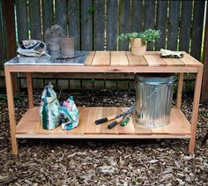25 Beautiful Potting Bench Design Ideas Creating Convenient Storage and Organization