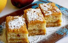 PRAJITURA CU MERE - de post - Rețete Fel de Fel Romanian Desserts, Romanian Food, Romanian Recipes, No Cook Desserts, Vegan Desserts, Raw Vegan Recipes, Cooking Recipes, Sweet Recipes, Cake Recipes