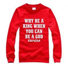 Eminem rap god sweatshirt for teens