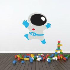 Da click! Vinilo Decorativo Astronauta Infantil