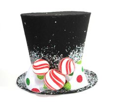 Hey, I found this really awesome Etsy listing at http://www.etsy.com/listing/171207259/mickey-mouse-top-hat-7in-christmas-tree