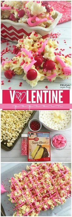 4 MORE homemade and easy Valentine\'s Day gifts! These candies ...