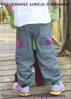 Hose Aurelia (von Farbenmix) als Pumphose Mehr dazu unter: freudenkind3.blogspot.com