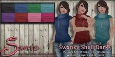 .: Somnia :. Swanky Shell Darks Ad http://maps.secondlife.com/secondlife/Land%20of%20Freedom/177/86/25