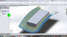"SolidWorks tutorial : Similarties between ""cut with surfce,""replace face..."