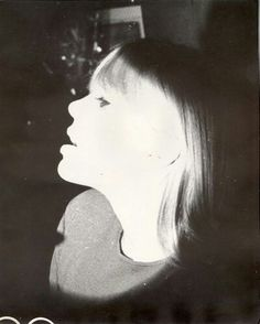 Nico photographed by Billy Name, 1965