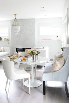 Open concept in a small but cosy home | Chrissy & Co