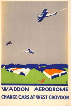 Flights of fancy: Vintage British Airways posters capture the golden age of flying