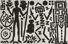 German Neo-Expressionist A.R. Penck, best known for his paintings and sculptures depicting simplified symbols and figures, has died in Zürich at the age of