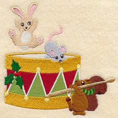 Machine Embroidery Designs at Embroidery Library! - Color Change - X3589