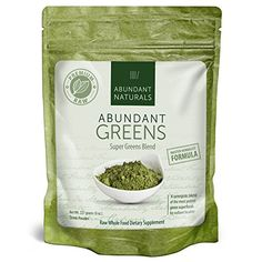 ORGANIC Green Smoothie Superfood Powder  Abundant Greens  Boost Energy  Vitality Abundant Vitamins Minerals Antioxidants Probiotics Pleasant  Refreshing NonGMO Raw 38 Servings * Continue to the product at the image link.